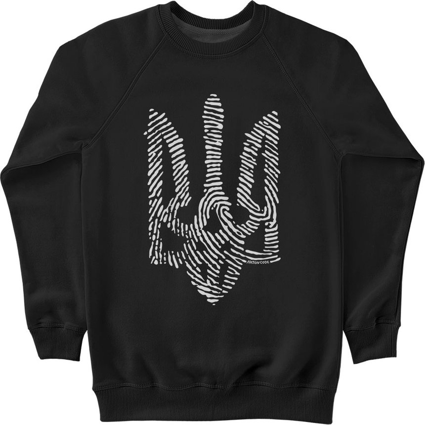"Sweatshirt ""Nation Code"", Black, M, Black"