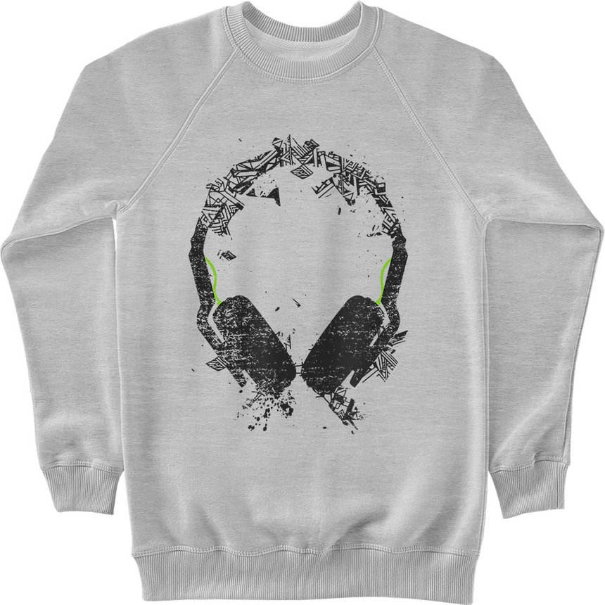 "Sweatshirt ""Art Sound"", Gray, M, Gray"